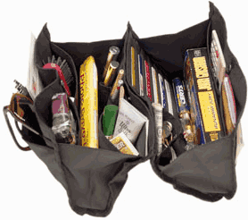 removable purse organizer
