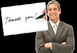 Testimonials, Reviews, Customer Comments - thankyou