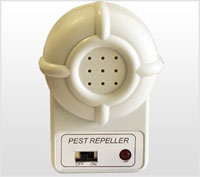 DX610 electronic mouse repeller plugin for getting rid of mice, rats, spiders, roaches