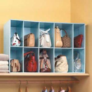 presto purse insert organizer fits into medium to large size handbags, totes, purses