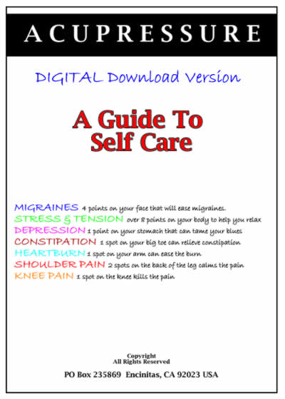 Acupressure Points A Guide For Self Care Digital Download